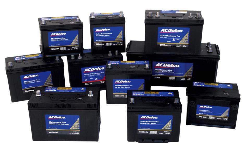 Ac Delco Batteries Battery Sales Autos Post